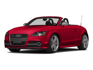 Misano Red Pearl Effect/Black Roof 2015 Audi TTS Pictures TTS Roadster 2D AWD photos front view