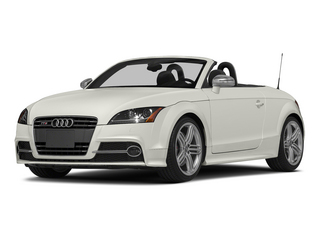 Ibis White/Black Roof 2015 Audi TTS Pictures TTS Roadster 2D AWD photos front view