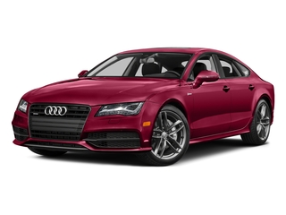 Garnet Red Pearl Effect 2015 Audi A7 Pictures A7 Sedan 4D TDI Prestige AWD T-Diesel photos front view