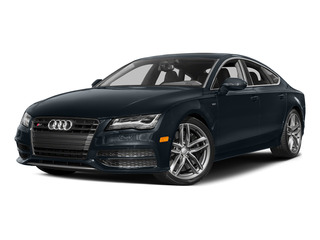 Moonlight Blue Metallic 2015 Audi S7 Pictures S7 Sedan 4D S7 Prestige AWD photos front view