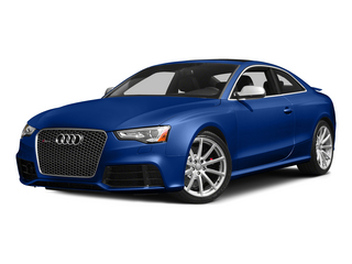 Sepang Blue Pearl Effect 2015 Audi RS 5 Pictures RS 5 Coupe 2D RS5 AWD V8 photos front view