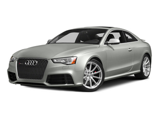Suzuka Gray Metallic 2015 Audi RS 5 Pictures RS 5 Coupe 2D RS5 AWD V8 photos front view