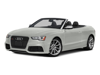 Suzuka Gray Metallic/Black Roof 2015 Audi RS 5 Pictures RS 5 Convertible 2D RS5 AWD V8 photos front view