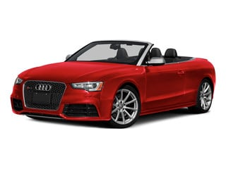 Misano Red Pearl Effect/Black Roof 2015 Audi RS 5 Pictures RS 5 Convertible 2D RS5 AWD V8 photos front view