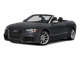 Nardo Gray/Black Roof 2015 Audi RS 5 Pictures RS 5 Convertible 2D RS5 AWD V8 photos front view