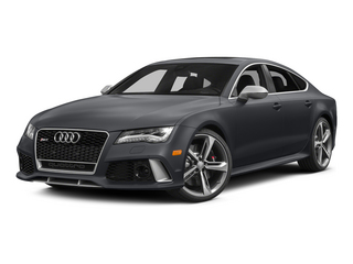 Nardo Gray 2015 Audi RS 7 Pictures RS 7 Sedan 4D Prestige AWD photos front view
