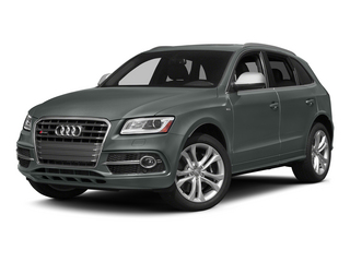 Monsoon Gray Metallic 2015 Audi SQ5 Pictures SQ5 Utility 4D Premium Plus AWD V6 photos front view