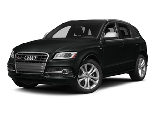 Mythos Black Metallic 2015 Audi SQ5 Pictures SQ5 Utility 4D Premium Plus AWD V6 photos front view
