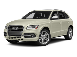 Glacier White Metallic 2015 Audi SQ5 Pictures SQ5 Utility 4D Premium Plus AWD V6 photos front view