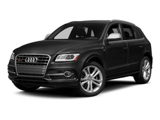 Brilliant Black 2015 Audi SQ5 Pictures SQ5 Utility 4D Premium Plus AWD V6 photos front view