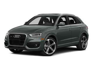 Monsoon Gray Metallic 2015 Audi Q3 Pictures Q3 Utility 4D 2.0T Prestige AWD photos front view