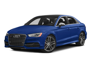 Sepang Blue Pearl 2015 Audi S3 Pictures S3 Sedan 4D Premium Plus AWD I4 Turbo photos front view