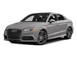 Florett Silver Metallic 2015 Audi S3 Pictures S3 Sedan 4D Prestige AWD I4 Turbo photos front view