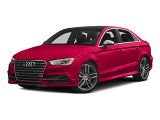 Misano Red Pearl Effect 2015 Audi S3 Pictures S3 Sedan 4D Prestige AWD I4 Turbo photos front view