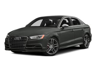 Daytona Gray Pearl Effect 2015 Audi S3 Pictures S3 Sedan 4D Premium Plus AWD I4 Turbo photos front view