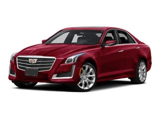 Red Obsession Tintcoat 2015 Cadillac CTS Sedan Pictures CTS Sedan 4D V-Sport Premium V6 Turbo photos front view