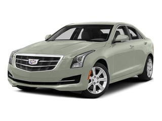 Crystal White Tricoat 2015 Cadillac ATS Sedan Pictures ATS Sedan 4D Luxury V6 photos front view