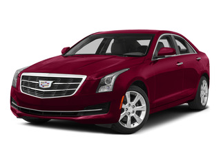 Red Obsession Tintcoat 2015 Cadillac ATS Sedan Pictures ATS Sedan 4D Luxury V6 photos front view