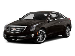 Cocoa Bronze Metallic 2015 Cadillac ATS Coupe Pictures ATS Coupe 2D Premium AWD V6 photos front view