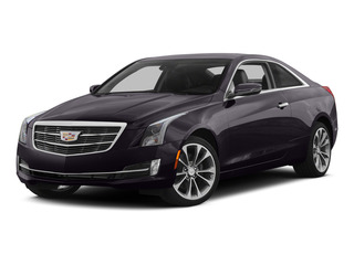 Majestic Plum Metallic 2015 Cadillac ATS Coupe Pictures ATS Coupe 2D Premium AWD V6 photos front view