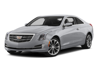 Radiant Silver Metallic 2015 Cadillac ATS Coupe Pictures ATS Coupe 2D Premium AWD V6 photos front view