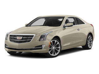 Silver Coast Metallic 2015 Cadillac ATS Coupe Pictures ATS Coupe 2D Premium AWD V6 photos front view