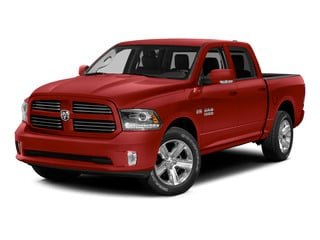 Bright Red 2015 Ram Truck 1500 Pictures 1500 Crew Cab Express 4WD photos front view