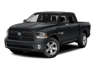 Granite Crystal Metallic Clearcoat 2015 Ram Truck 1500 Pictures 1500 Crew Cab Express 4WD photos front view