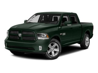 Black Forest Green Pearlcoat 2015 Ram Truck 1500 Pictures 1500 Crew Cab Laramie 4WD photos front view