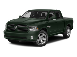 Black Forest Green Pearlcoat 2015 Ram Truck 1500 Pictures 1500 Crew Cab Longhorn 2WD photos front view