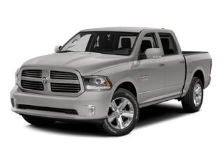 Bright Silver Metallic Clearcoat 2015 Ram Truck 1500 Pictures 1500 Crew Cab Laramie 4WD photos front view