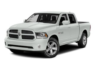 Bright White Clearcoat 2015 Ram Truck 1500 Pictures 1500 Crew Cab Laramie 4WD photos front view