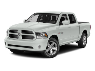 Bright White Clearcoat 2015 Ram Truck 1500 Pictures 1500 Crew Cab Sport 4WD photos front view