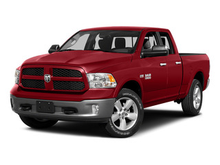 Bright Red 2015 Ram Truck 1500 Pictures 1500 Quad Cab SLT 4WD photos front view