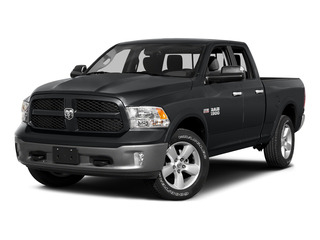 Granite Crystal Metallic Clearcoat 2015 Ram Truck 1500 Pictures 1500 Quad Cab Express 2WD photos front view