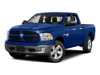Blue Streak Pearlcoat 2015 Ram Truck 1500 Pictures 1500 Quad Cab Express 4WD photos front view
