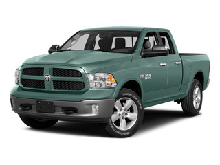 Light Green 2015 Ram Truck 1500 Pictures 1500 Quad Cab SLT 2WD photos front view