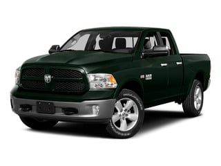 Black Forest Green Pearlcoat 2015 Ram Truck 1500 Pictures 1500 Quad Cab SLT 4WD photos front view
