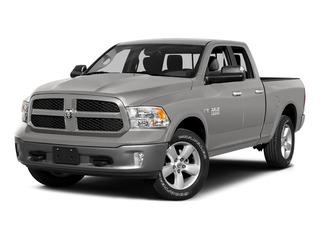 Bright Silver Metallic Clearcoat 2015 Ram Truck 1500 Pictures 1500 Quad Cab SLT 4WD photos front view