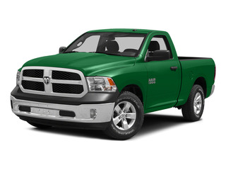 Bright Green 2015 Ram Truck 1500 Pictures 1500 Regular Cab SLT 2WD photos front view