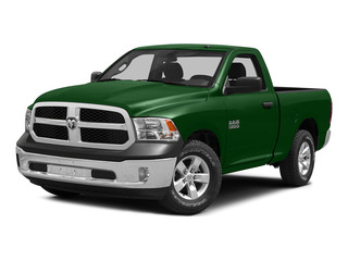 Tree Green 2015 Ram Truck 1500 Pictures 1500 Regular Cab SLT 2WD photos front view