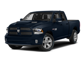 True Blue Pearlcoat 2015 Ram Truck 1500 Pictures 1500 Quad Cab Sport 2WD photos front view