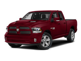 Deep Cherry Red Crystal Pearlcoat 2015 Ram Truck 1500 Pictures 1500 Quad Cab Sport 2WD photos front view