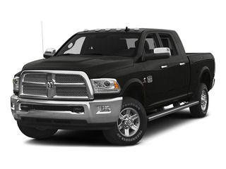 Brilliant Black Crystal Pearlcoat 2015 Ram Truck 2500 Pictures 2500 Mega Cab SLT 2WD photos front view
