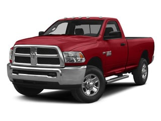 Bright Red 2015 Ram Truck 2500 Pictures 2500 Regular Cab Tradesman 4WD photos front view