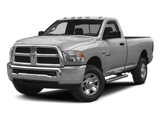 Bright Silver Metallic Clearcoat 2015 Ram Truck 2500 Pictures 2500 Regular Cab SLT 4WD photos front view
