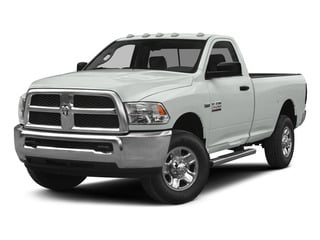 Bright White Clearcoat 2015 Ram Truck 2500 Pictures 2500 Regular Cab Tradesman 4WD photos front view