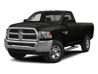 Brilliant Black Crystal Pearlcoat 2015 Ram Truck 2500 Pictures 2500 Regular Cab SLT 4WD photos front view