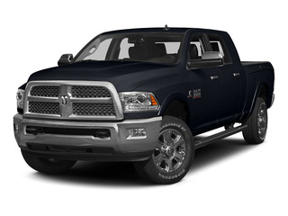 Midnight Blue Pearlcoat 2015 Ram Truck 3500 Pictures 3500 Mega Cab SLT 4WD photos front view