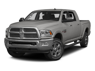 Bright Silver Metallic Clearcoat 2015 Ram Truck 3500 Pictures 3500 Mega Cab Limited 4WD photos front view